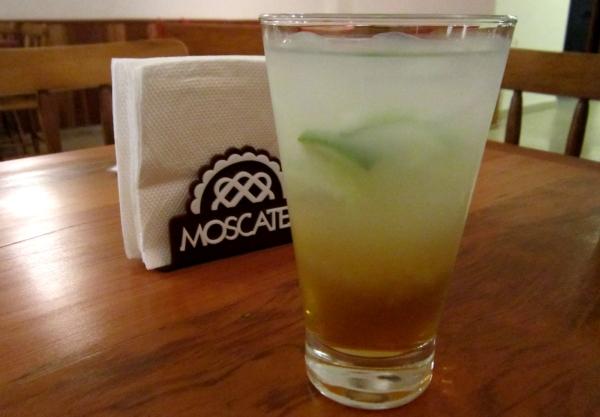 Coquetel que leva o nome da doceria Moscatel