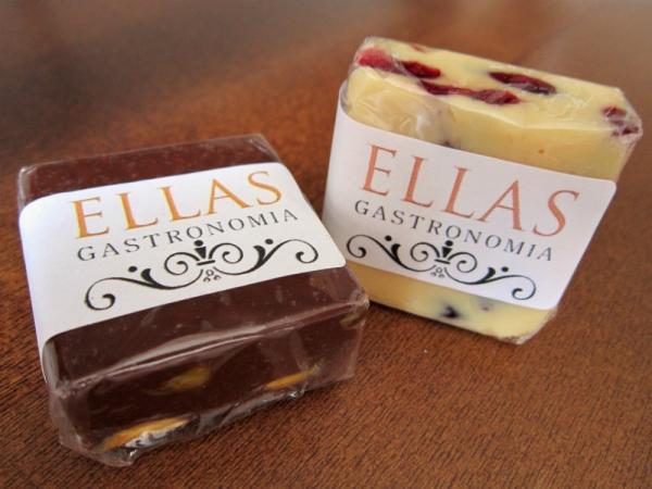Fudges da Ella Gastronomia  vendidos na The Little Coffee Shop